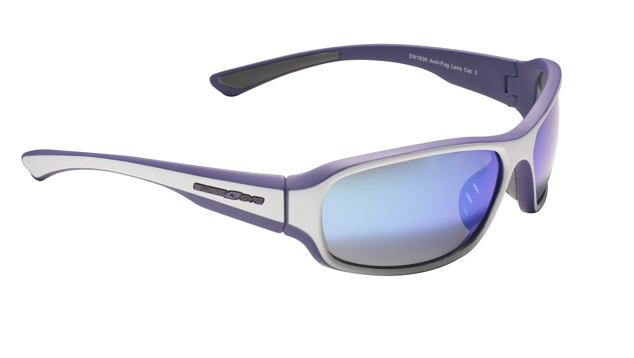 Очки велосипедные SWISSEYE Freeride спортивные: оправа violet матовый, линзы дымч, BW Revo, 14324