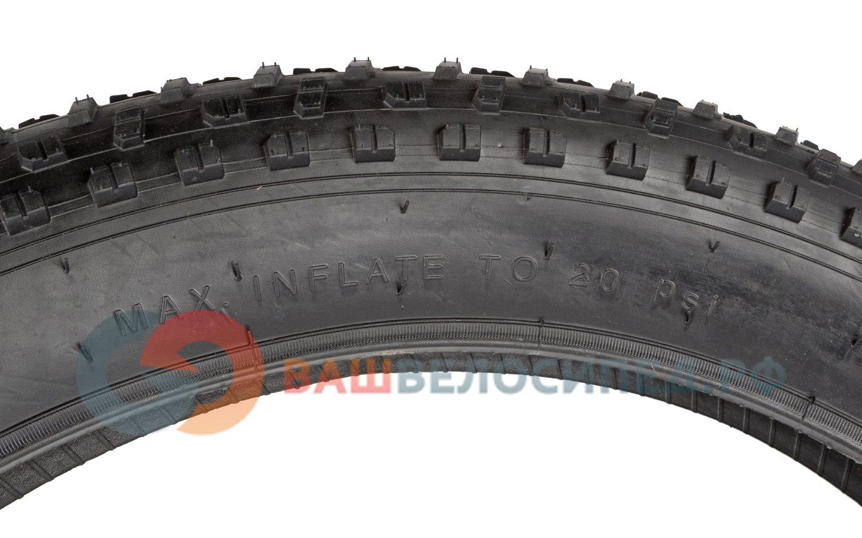 """Велопокрышка WANDA P1272, для фэтбайка, 26x4.0""""(106-559), 1200 г, стальной корд"""