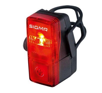 Фонарик задний вело SIGMA SPORT CUBIC, в комплекте батарейки 2x AAA, 15910