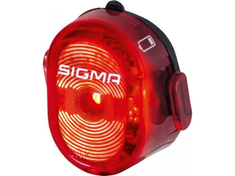 Фонарик задний вело SIGMA SPORT NUGGET II FLASH USB, заметность с 400 м, 3 режима: стандартный