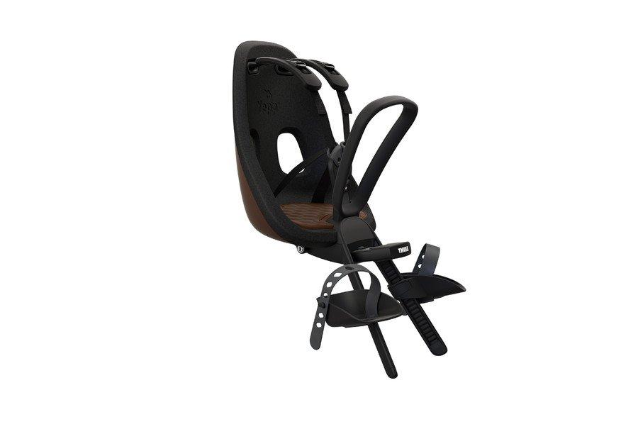 Детское велокресло Thule Yepp Nexxt Mini, коричневый, переднее, 12080106