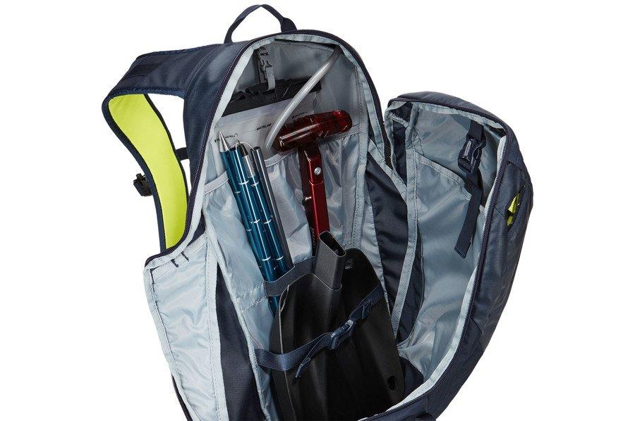 Рюкзак для лыж и сноуборда Thule Upslope 20L Snowsports Backpack, черно-синий, 3203605