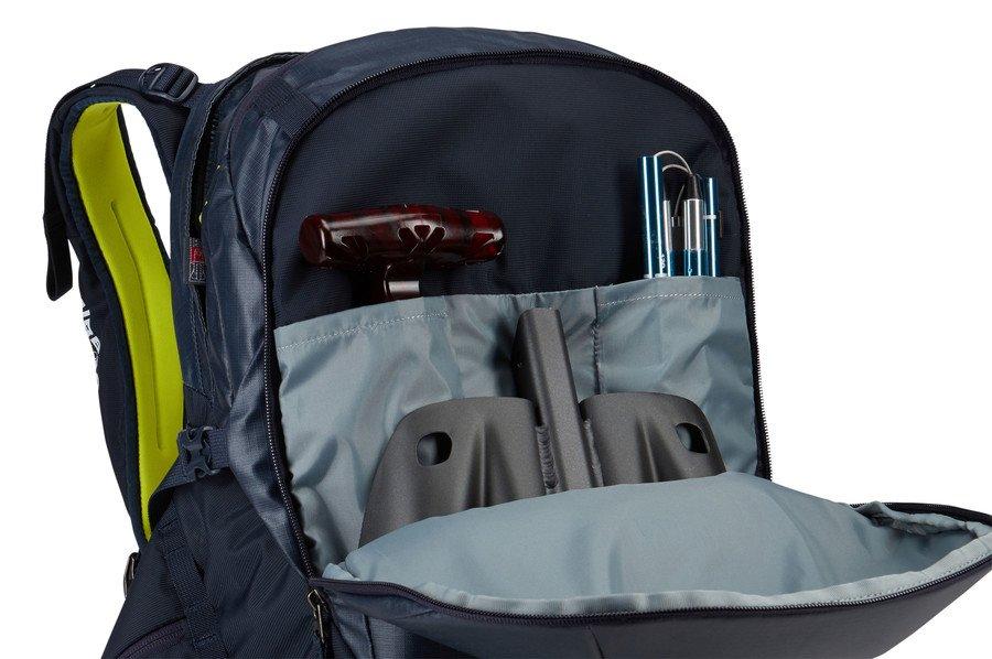 Рюкзак для лыж и сноуборда Thule Upslope 35L Snowsports RAS Backpack, черно-синий, 3203609