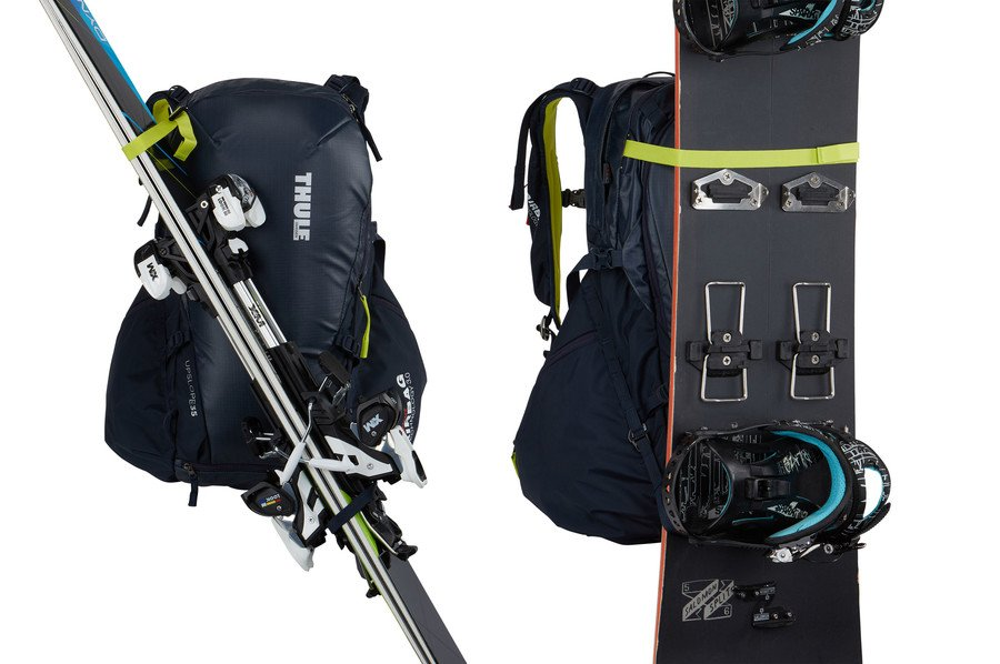 Рюкзак для лыж и сноуборда Thule Upslope 35L Snowsports RAS Backpack, желтый, 3203610