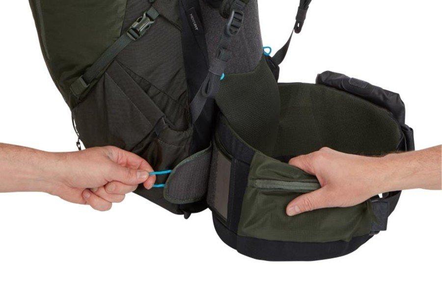 Туристический рюкзак мужской Thule Versant, 50L, красный, 3203570