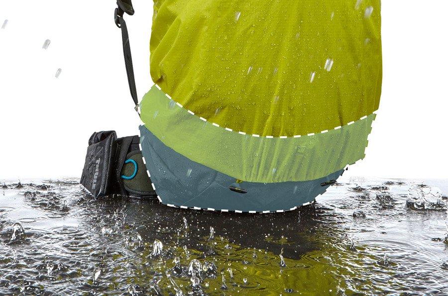 Туристический рюкзак мужской Thule Versant 70L, темно-зеленый, 3203561