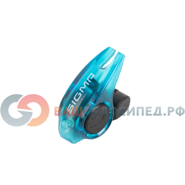 Фонарь стоп-сигнал Sigma Sport Brakelight, синий корпус, 31004