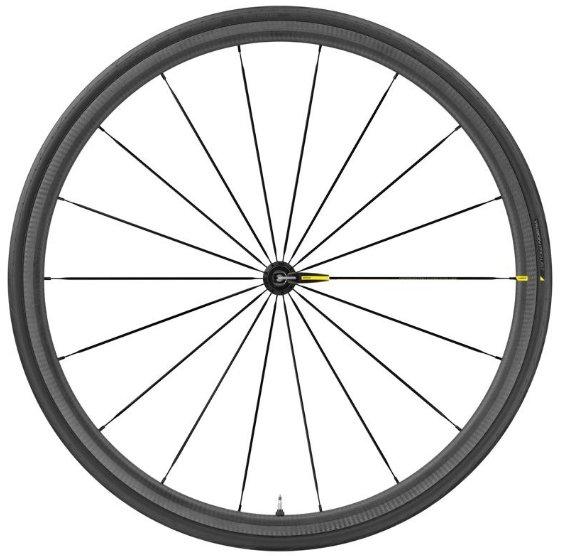 Колесо велосипедное переднее Mavic Ksyrium PRO Carbon