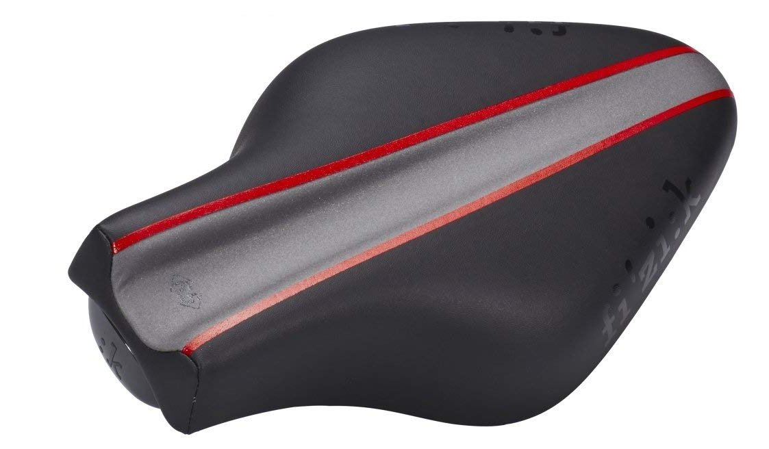 Седло велосипедное Fizik TRITONE 6,5, триатлон, Grey+Black,