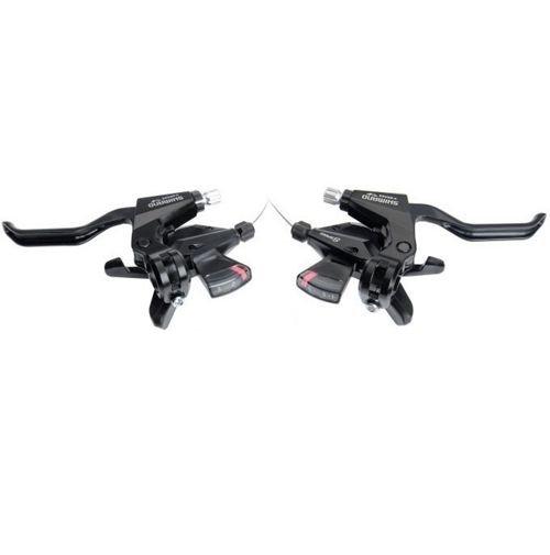 Велоручки тормозные с переключателем Shimano Dura-Ace 11 скоростей, ST-9100