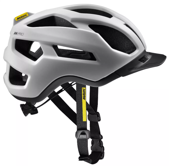 Каска велосипедная MAVIC XA PRO'18, белый-черный, 401494 (Размер: М (Обхват головы 54-59см))