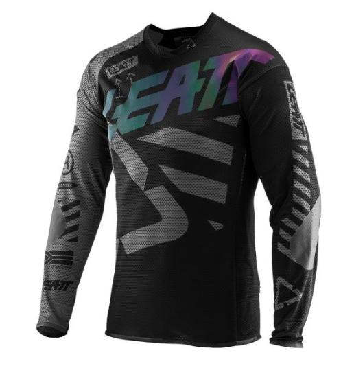 Велоджерси Leatt Jersey DBX 4.0 UltraWeld, черный