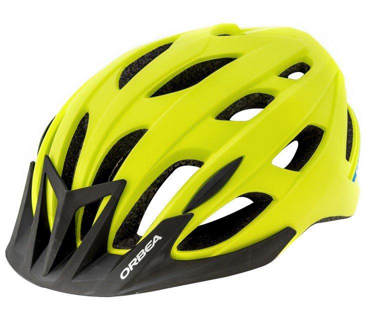 Велошлем Orbea Endurance M2 неоново-зеленый H04E (Размер: М (56-59 см)).