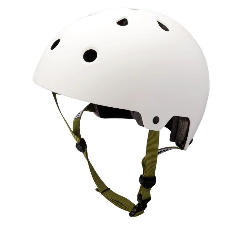 Шлем велосипедный KALI BMX/FREESTYLE MAHA, белый 2019 (Размер: S 48-54см)