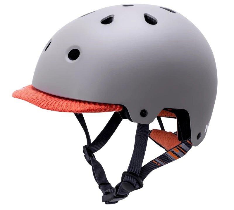 Шлем велосипедный KALI URBAN/BMX SAHA, серый 2019 (Размер: 54-58см)