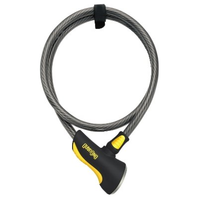 Велосипедный замок Onguard AKITA тросовый на ключ 3000 х 12мм 8040L.