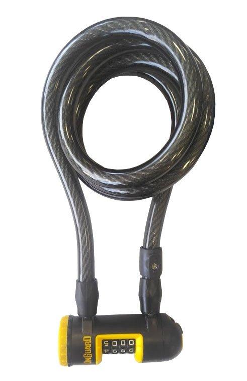 Велосипедный замок Onguard REVOLVER Coil Combo тросовый кодовый 1850 х 15мм 8141.