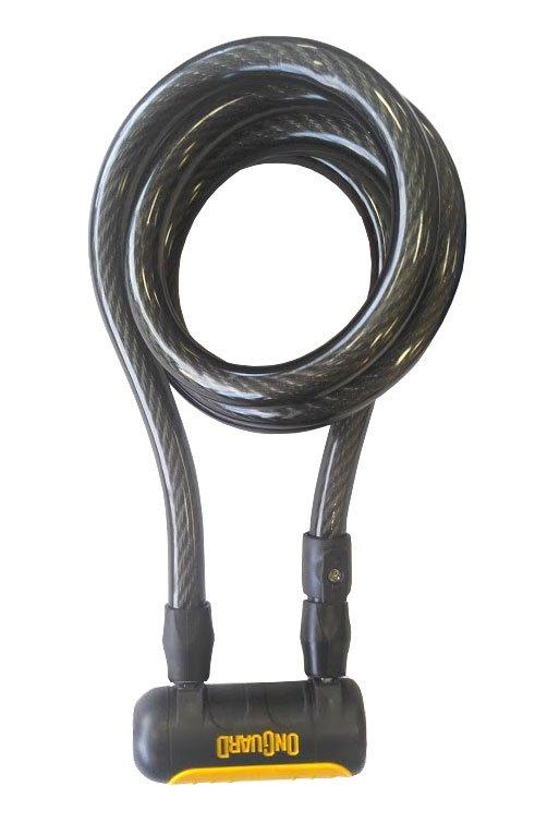 Велосипедный замок Onguard REVOLVER Coil Key тросовый на ключ1850 х 15мм 8139.