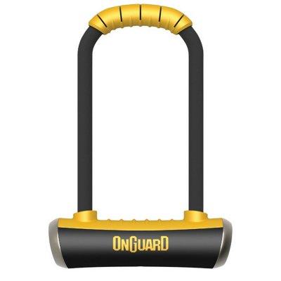 Велосипедный замок Onguard PITBULL Mini LS U-lock на ключ 90 x 240мм толщина 14мм 8007.