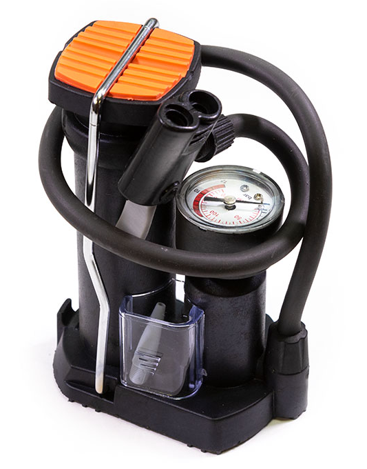 Насос Bee Pump напольный ножной с манометром FP9809D.