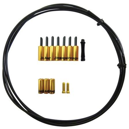 Комплект велосипедный Jagwire для тормозного троса, вкладыш в оплётку, набор заглушек, ZSK000