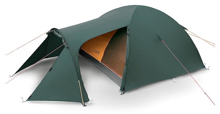 Трехместная палатка PINGUIN Horizon, зеленый