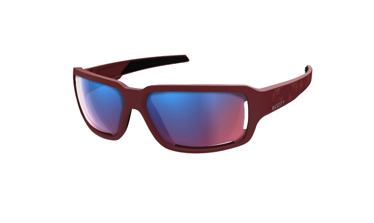 фото Очки велосипедные scott obsess acs dark red pink chrome enhancer, 235512-0084339