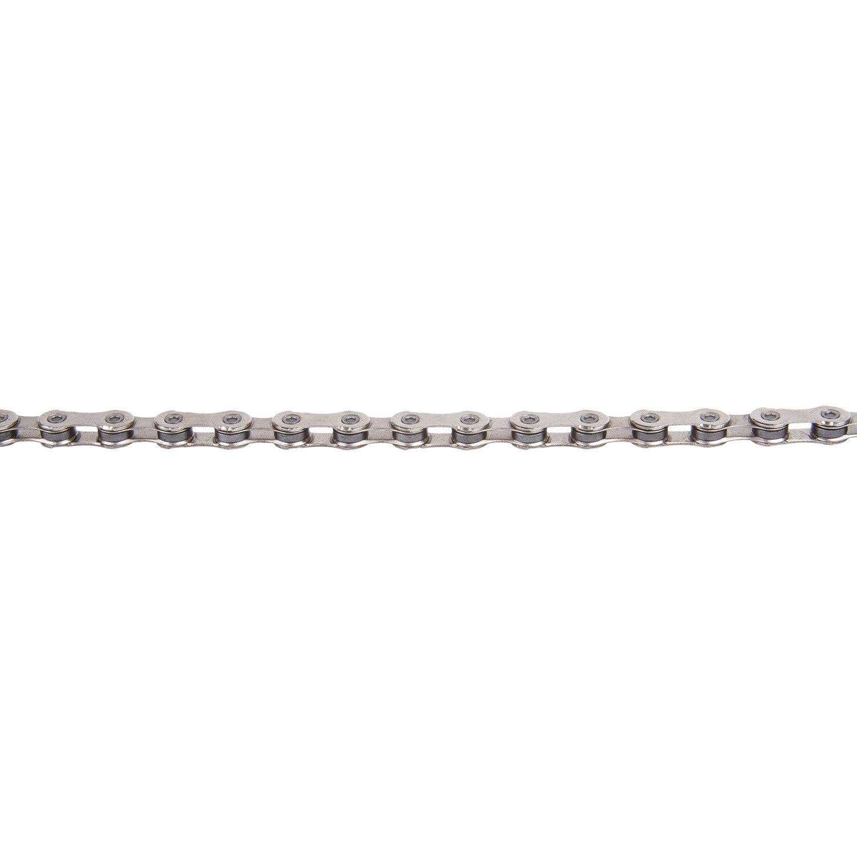 Велосипедная цепь KMC X12 126 звеньев, серебряный, 303512
