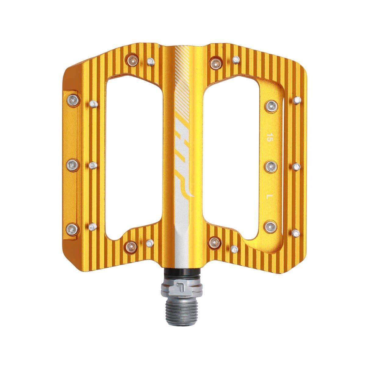 Педали велосипедные HT ANS01, золотой, ANS01110101
