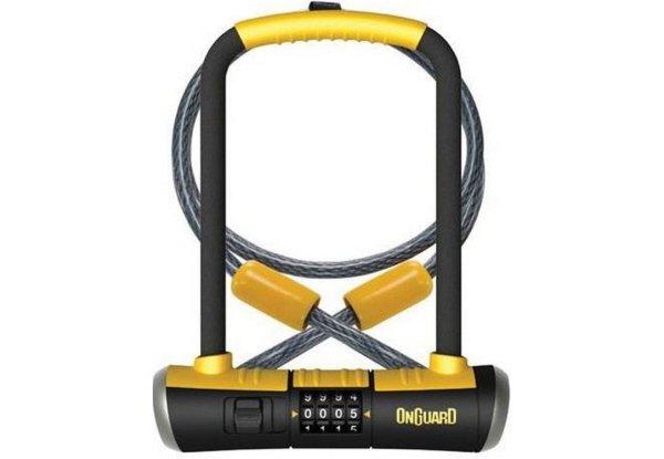 Велосипедный замок Onguard BULLDOG COMBO DT U-образный на ключ 115 x 230мм 8012C.