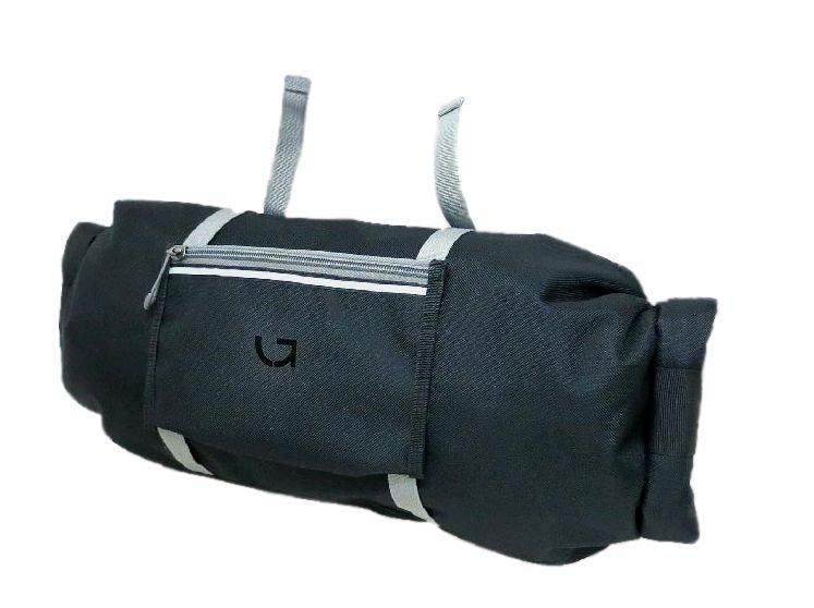 Cумка на руль Green Cycle Horn bag черный.