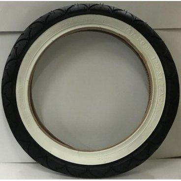 Велопокрышка Kenda K-909 12'', 47-203, черная с белым бортом, для детских и инвалидных колясок и самокатов, 526236