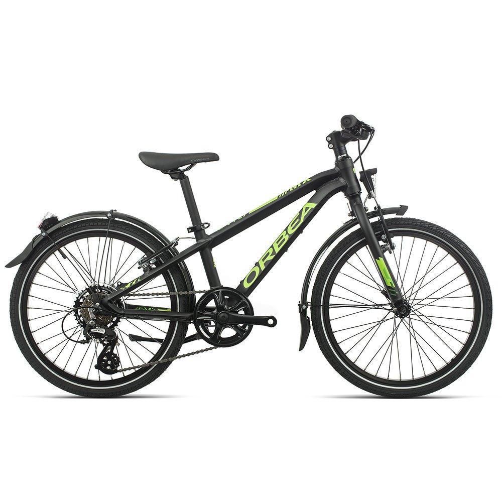 """Детский велосипед Orbea MX Park 20"""" 2020 (Рост: 115-135см. Цвет: черный/зеленый)"""