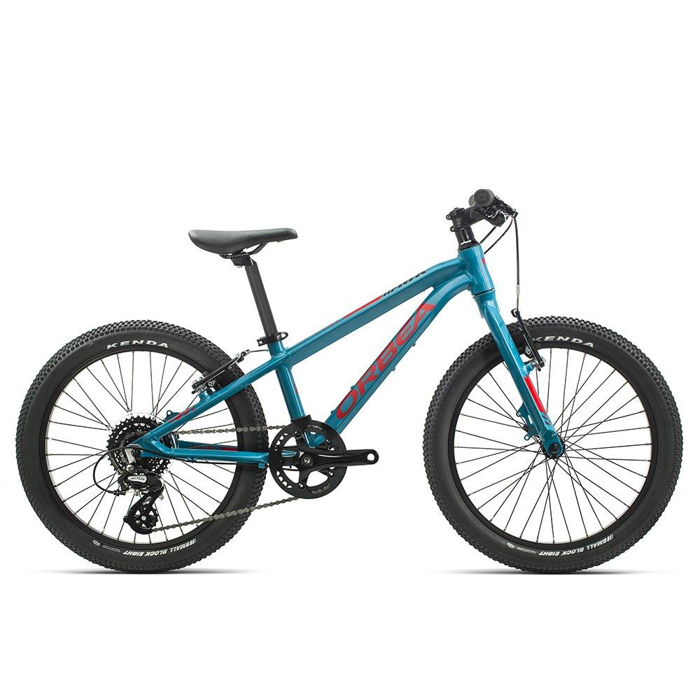 """Детский велосипед Orbea MX Team 20"""" 2020 (Рост: 115-155см. Цвет: голубой/красный)"""