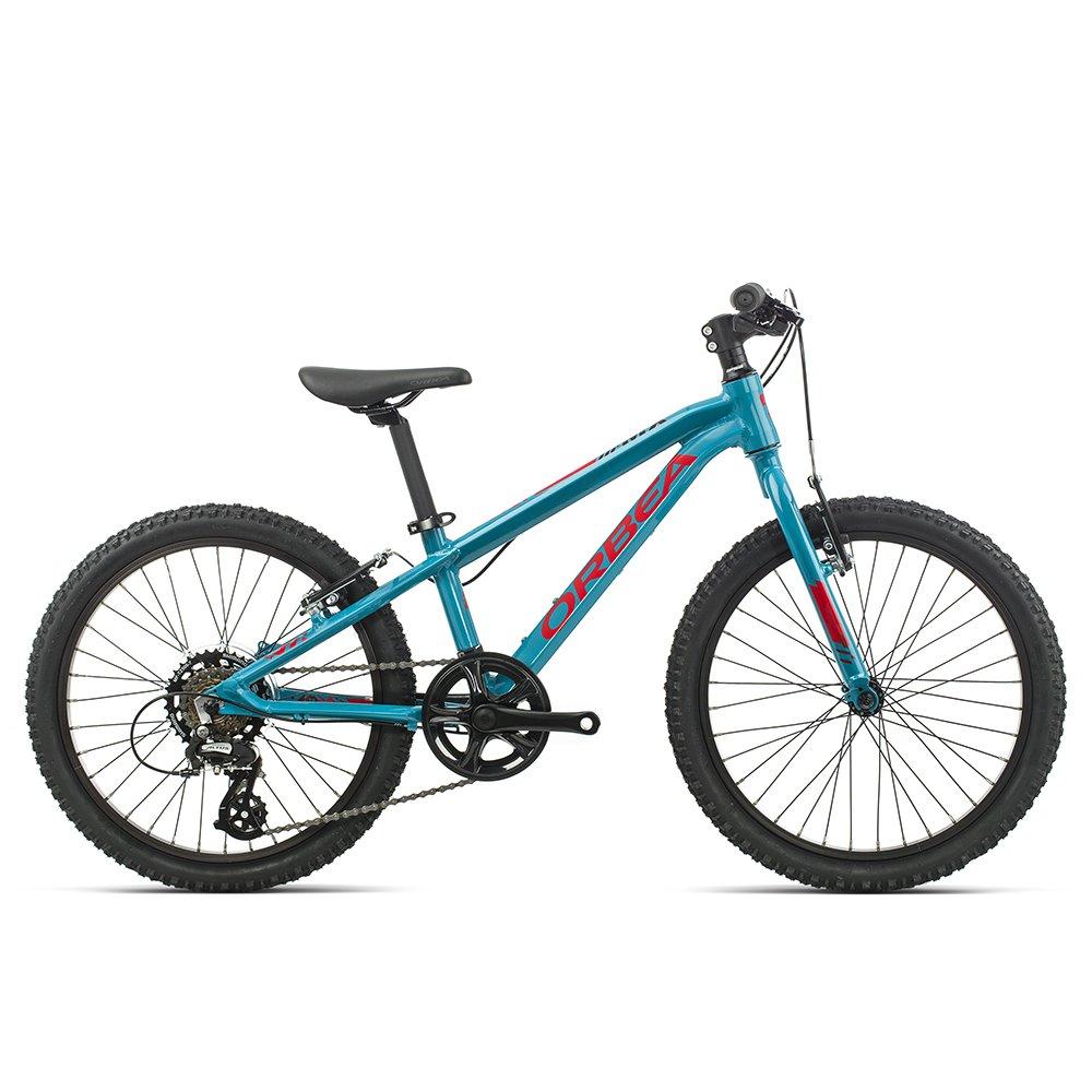 """Детский велосипед Orbea MX Dirt 20"""" 2020 (Рост: 115-135см. Цвет: голубой/красный)"""