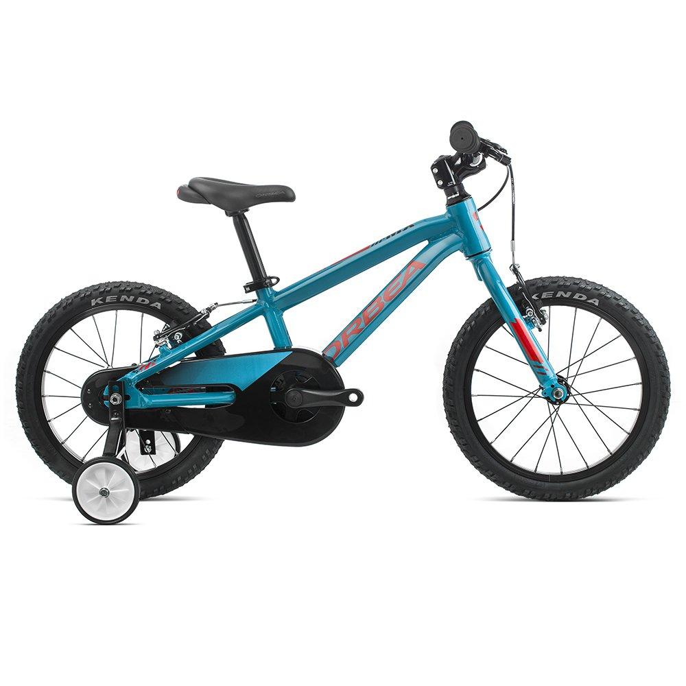 """Детский велосипед Orbea MX 16"""" 2020 (Рост: 100-115см. Цвет: голубой/красный)"""