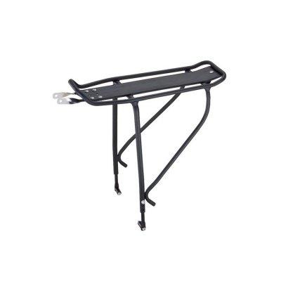 Багажник велосипедный Massload26-29алюминий черный под диск и V-brake CL-408_blk.