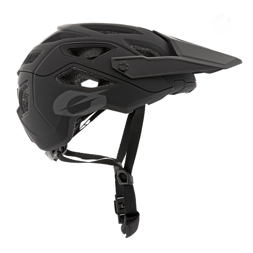Велошлем O'Neal PIKE IPX SOLID black/gray (Размер: S/M (55-58cm)).