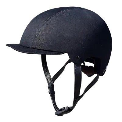 Шлем велосипедный KALI URBAN/BMX SAHA LUXE, BIO, 11отверстий, обтянутый джинсовой тканью (Размер: S/M 53-54см)