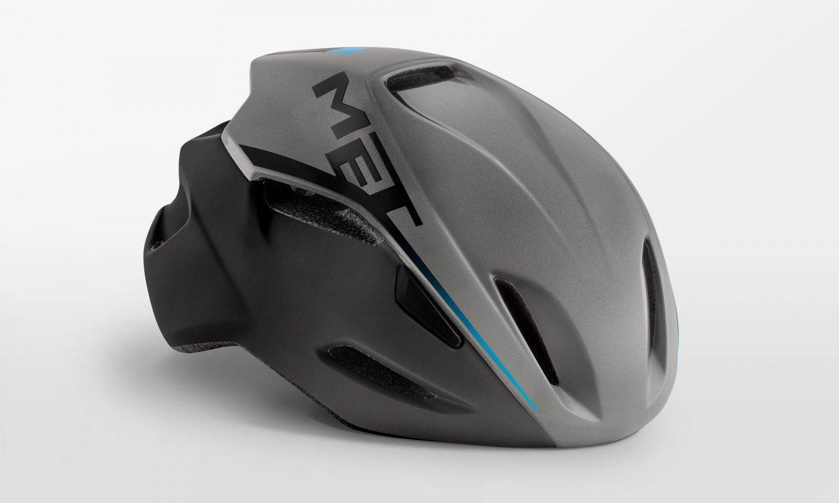 Велошлем Met Manta Shaded, серый, 2020 (Размер: M (54-58 см) )