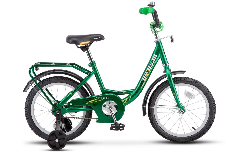 "Детский велосипед Stels Flyte Z011 16"" 2018 (Рама: 11 (Рост: 105см), Цвет: Синий)"