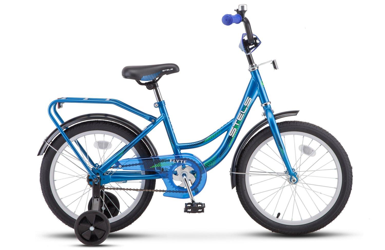 """Детский велосипед Stels Flyte Z011 18"""" 2018 (Рама: 12"""" (Рост: 110-120см), Цвет: Красный)"""