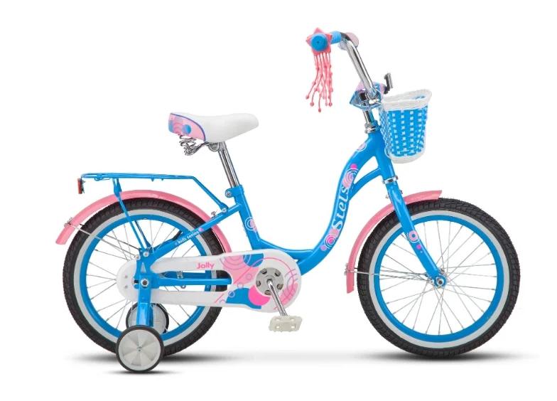 """Детский велосипед Stels Jolly V010 16"""" (Рама: 9,5"""" (Рост: 100-120см), Цвет: Мятный )"""