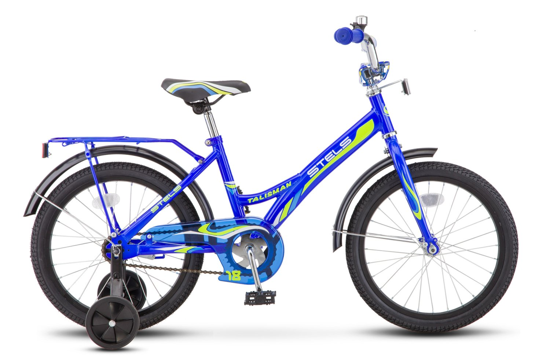 """Детский велосипед Stels Talisman Z010 18"""" 2018 (Рама: 12"""" (Рост: 110-120см), Цвет: Зеленый )"""
