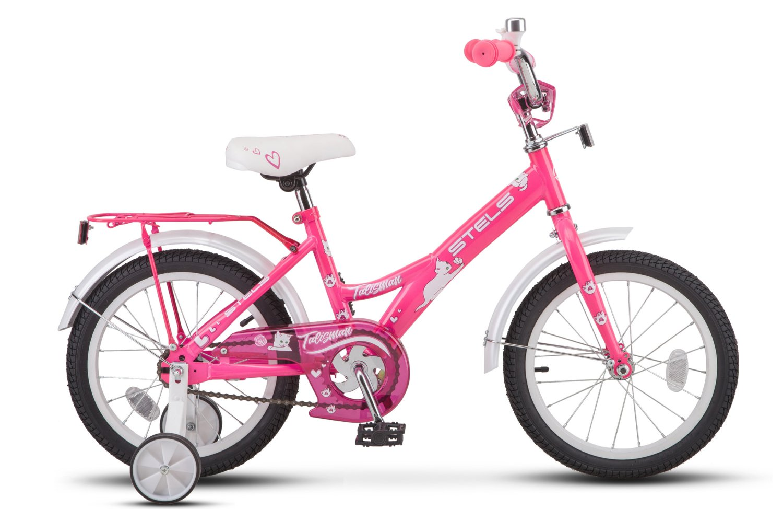 "Детский велосипед Stels Talisman Lady Z010 16"" (Рама: 11"" (Рост:"