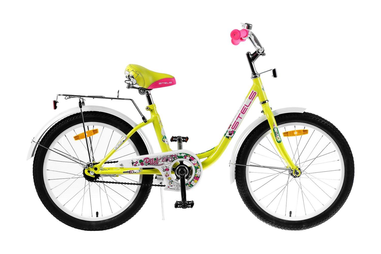 "Детский велосипед Stels Pilot 200 Lady Z010 20"" 2019 (Рама: 12"" (Рост: 110см), Цвет: Розовый )"