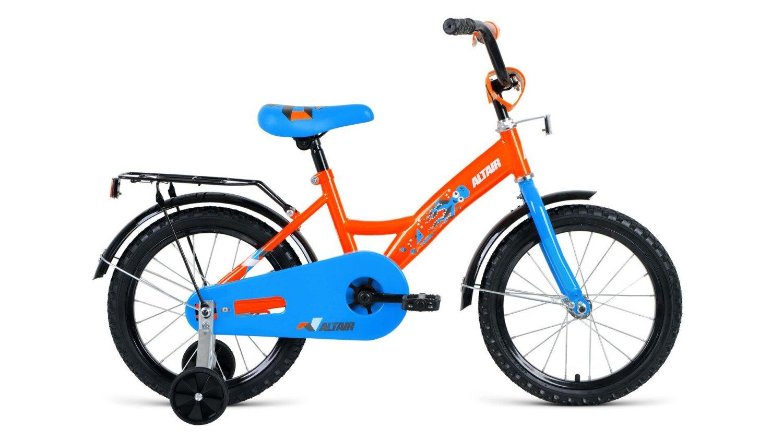 """Детский велосипед FORWARD ALTAIR KIDS 16"""" 2019 (Рост: 100-118 см, Цвет: оранжевый)"""