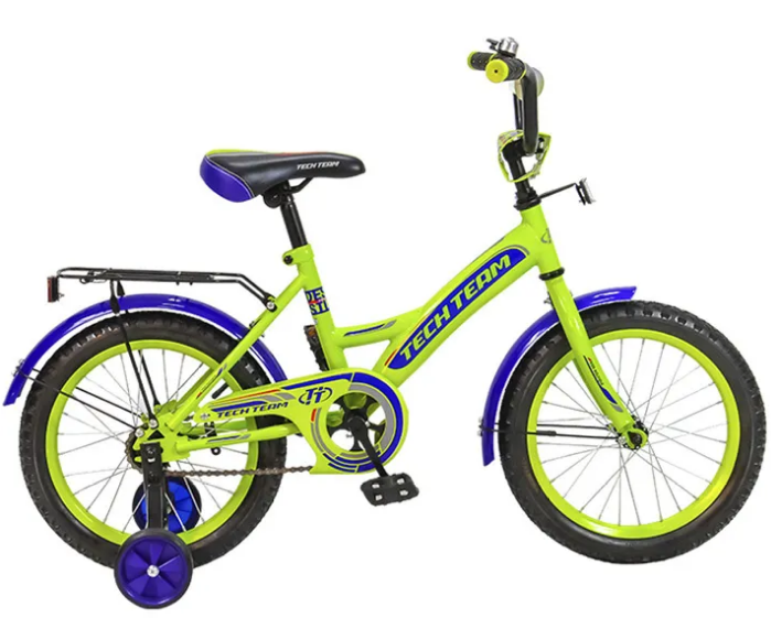 """Детский велосипед TECH TEAM 135 18"""" 2018 (Рост: 105-125 см, Цвет: оранжевый)"""
