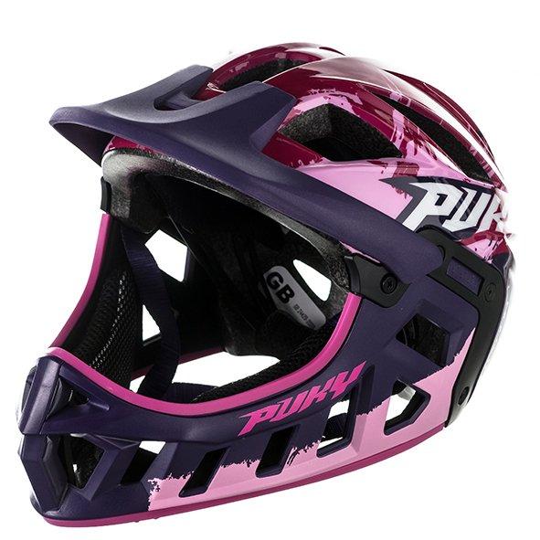 Шлем велосипедный Puky, фулфейс, pink (Размер: M (Обхват головы: 54-58 см))
