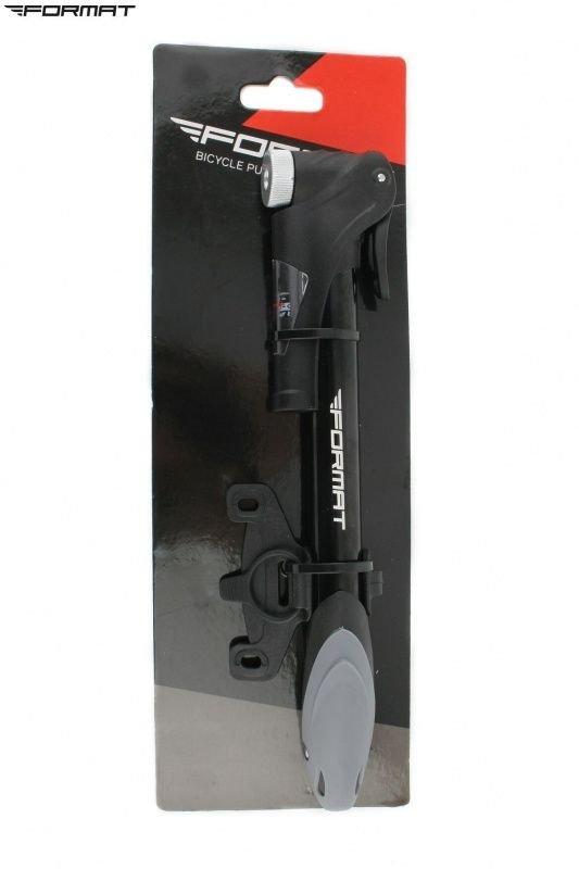 Насос компактный (ручной) FORMAT M21B-02  алюминиевый с манометром Two-Way (с обратным ходом) RPUM21B02001.